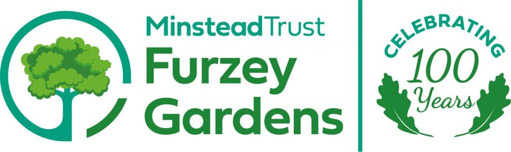 Furzey Gardens centenary logo