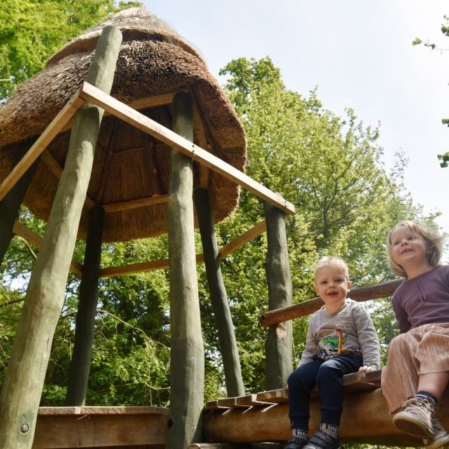 Our play area is just perfect for creating adventures. Whether you are the king of the castle, playing hide and seek through the tunnels, or pretending to sail in our little boat.   Kids love exploring at Furzey Gardens.   Book your visit today www.furzey-gardens.org  #dayoutwiththekids #hampshiregardens #thenewforest #schoolsoutforsummer