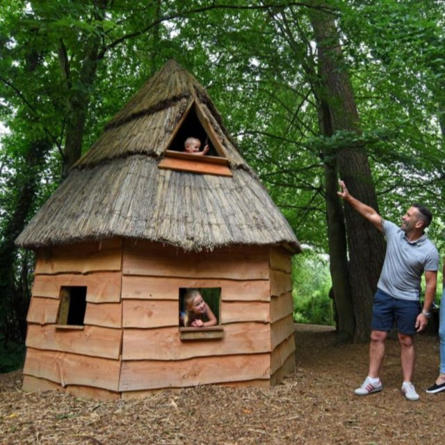 Have you visited our quirky thatched house in the play area at Furzey Gardens?   Kids love to create all sorts of adventures when stopping at the playarea.   #dayoutwiththekids #hampshiregardens #thenewforest #gardensofinstagram