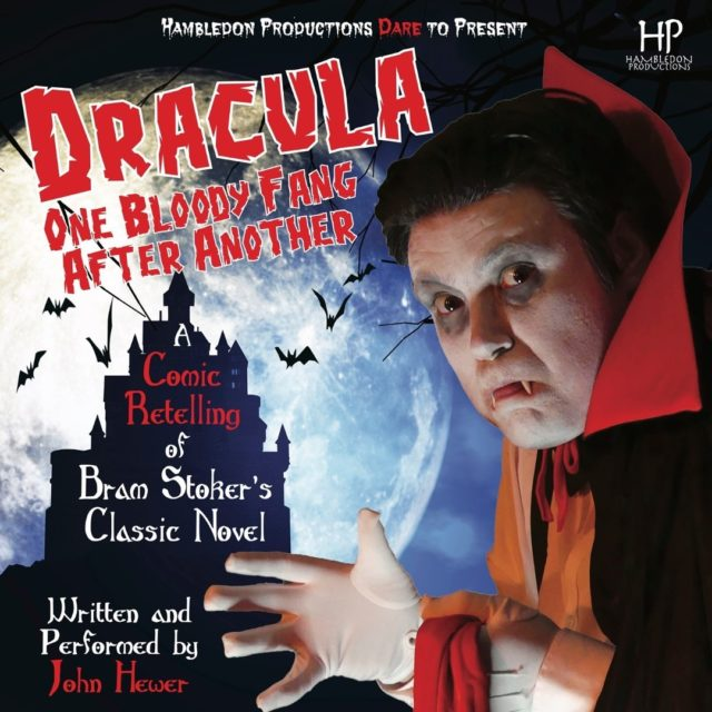 Not long to go until Hambledon Productions present 'Dracula: One Bloody Fang After Another' at Hanger Farm Arts Centre on 23 September.   One man. Eighteen roles. Plenty at stake…  Whitby, England, 1897.  A haunting, paranormal force has gripped the town. The young Lucy Westenra is taken ill and psychiatrist Dr. Seward calls on his mentor Professor Van Helsing for his advice. The Professor has a perplexing diagnosis – Lucy carries all the symptoms of a vampire's latest victim.  Bram Stoker's immortal horror story is given an affectionate lampooning in this physical, riotous comedy. Now, it is truly horrific.  http://ow.ly/Z9AT50G9Mwt  #HambledonProductions #Dracula #WhatsOnSouthampton #WhatsOnTotton #BramStoker #OneBloodyFangAfterAnother