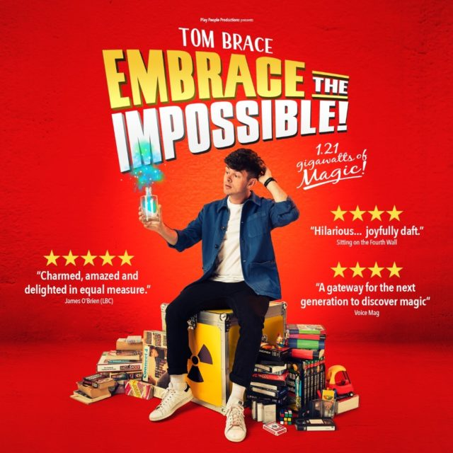There is only one week left to book tickets for the wonderful, family friendly show, 'Embrace the Impossible'!  Join Tom Brace on the 26 September for a hilarious evening of 1.21 gigawatts of magic as he showcases his unique, incredible and totally pointless abilities in a new show inspired by his past!   https://www.minsteadtrust.org.uk/charity/events/tom-brace-embrace-the-impossible/  #MagicShow #LiveMagic #FamilyShow #WhatsOnTotton #WhatsOnSouthampton #BookNow #TomBrace #EmbraceTheImpossible