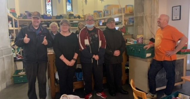 As part of our harvest festival celebrations in Portsmouth we collected food for a local food bank.  The guys popped along there this week to drop it all off and got a great response from the food bank volunteers.   People with learning disabilities have so much to offer their communities - together we hope to make a society where it's much easier for them to do so 😀