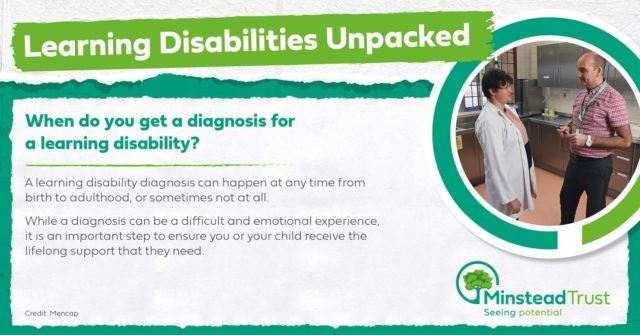 Learning disabilities unpacked is back to answer another common question.   Do you have any questions you'd like answered? Just let us know.